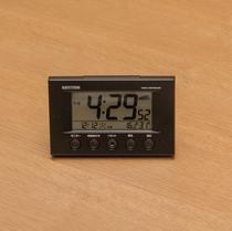 ◆デジタル時計◆全室完備