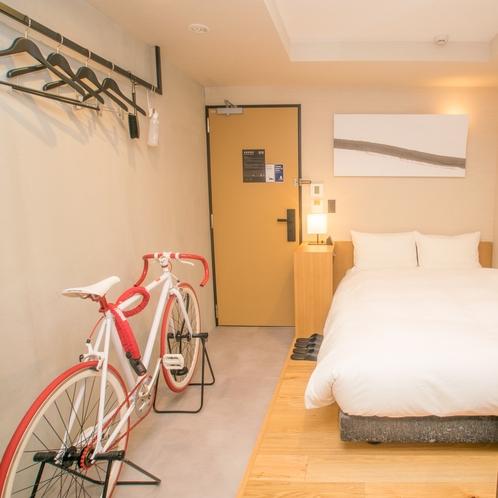 ◆バイシクルルーム◆13平米【ベッド幅135cm×1】