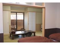 和洋特別室和室9畳【半露天4.5坪 雨雪OKかやぶき檜風呂】