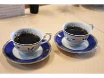 ウェルカムコーヒーをどうぞ。