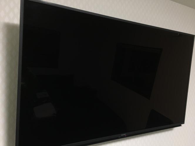 50インチ液晶テレビ