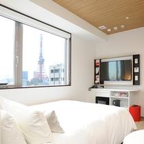 東京タワーが見える部屋
