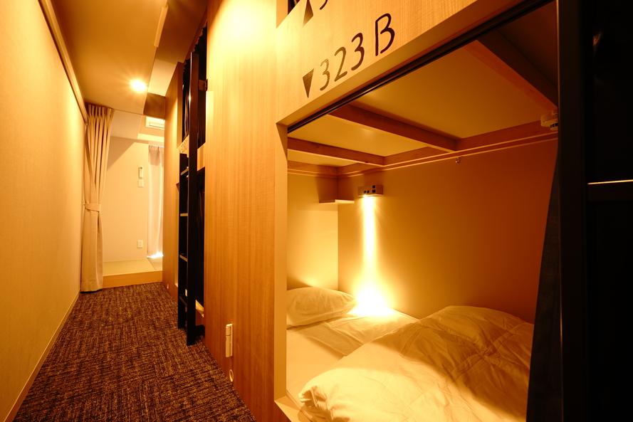 5ベッドドミトリールーム