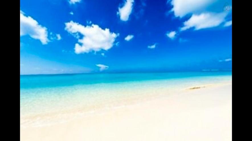 【周辺】古宇利島の砂浜と青い海