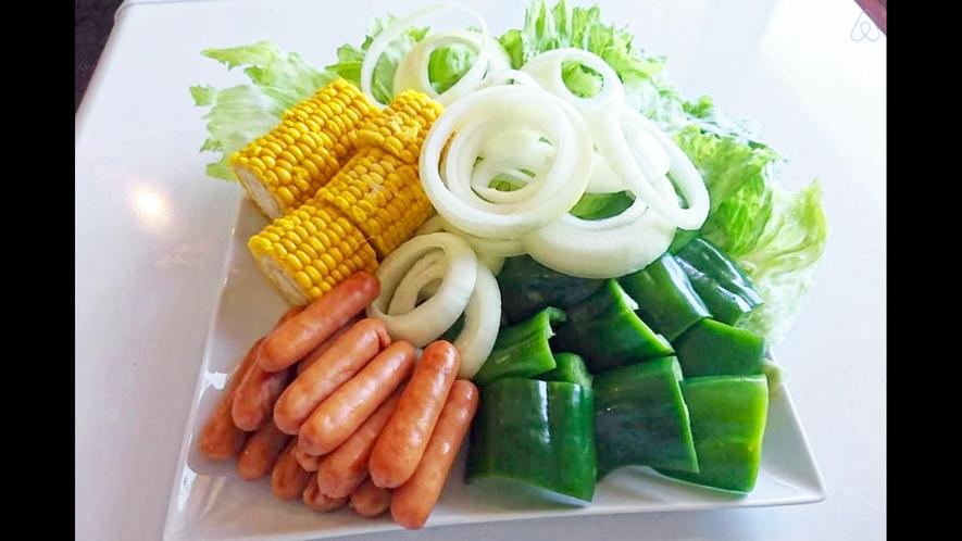 【バーベキュープラン野菜一例】