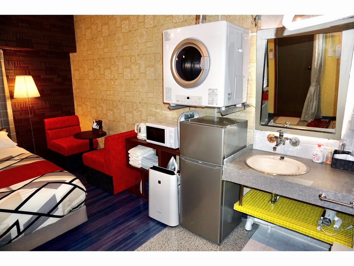 あると便利♪無料で衣類乾燥機をご利用になれます♪