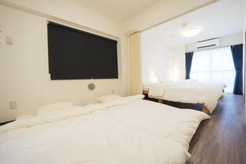 リビングルームと寝室