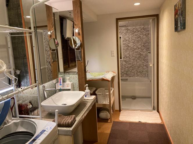 1階 洗面スペース