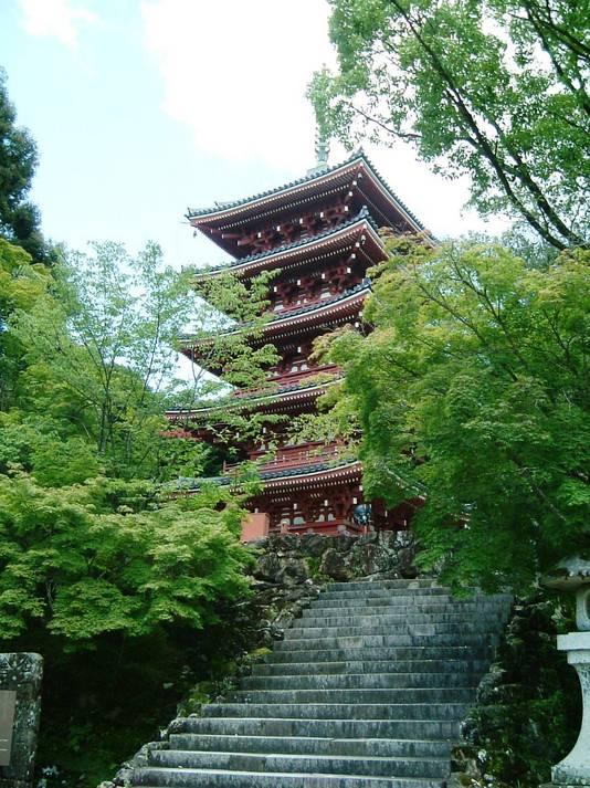 竹林寺(五重塔)
