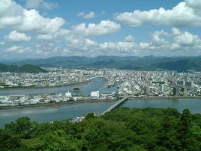五台山展望台からの眺め