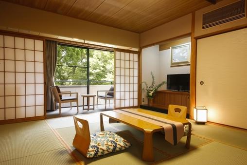 和室10畳+広縁(4F西側/禁煙・バスなし)