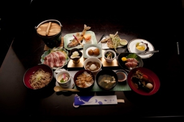 【ふくしまプライド。】 湯ら里【四季会席プラン】 ちょっと贅沢な会席料理