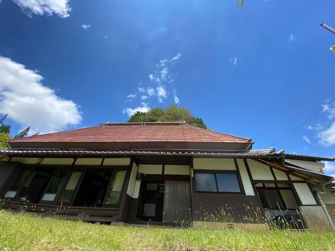 多羅尾の家全景