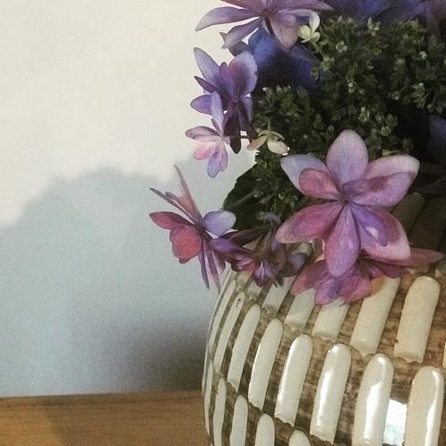夏の花紫陽花