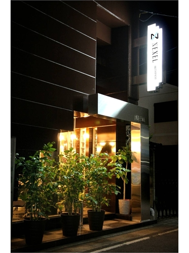 ネクセル秋田町(夜)