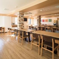 【ラウンジスペース】カフェスペースとしてもご利用いただけます