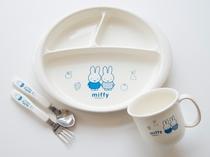 【朝食サービス】お子様にも使いやすい食器をご用意しております