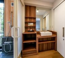 グランスイート バス&洗面台&トイレ