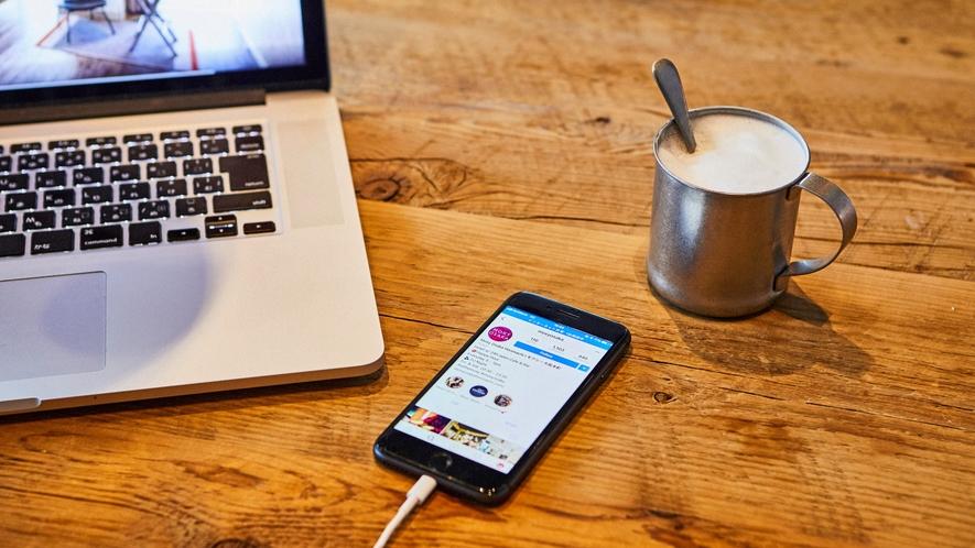 【館内設備】Wi-Fiが無料でご利用いただけます