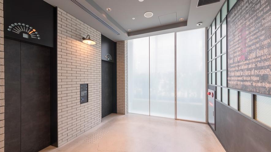 【ロビー】エレベーター