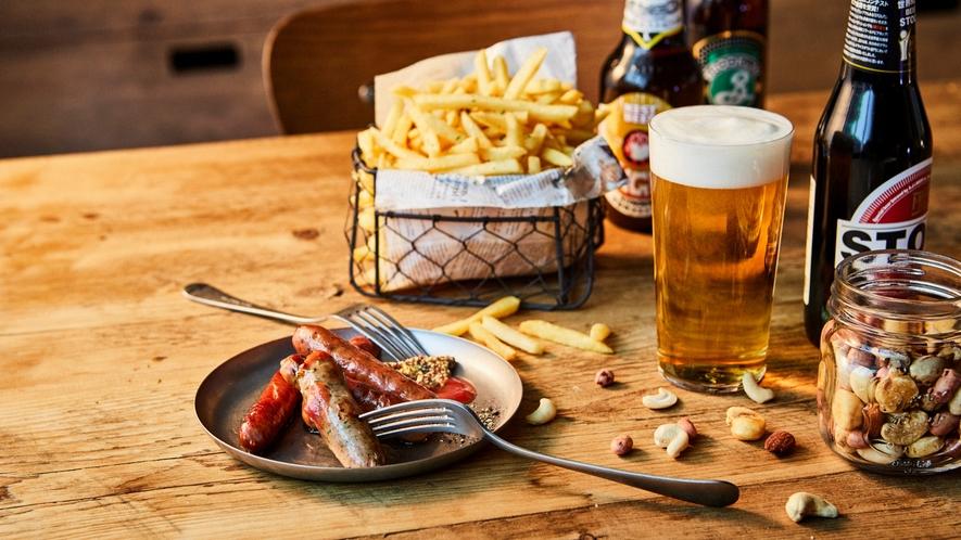 【Cafe&Bar】お酒のおともに♪フィンガーフード。