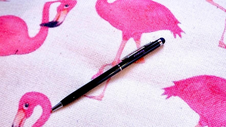 【MOXYノベルティ】 タッチペン付きボールペン