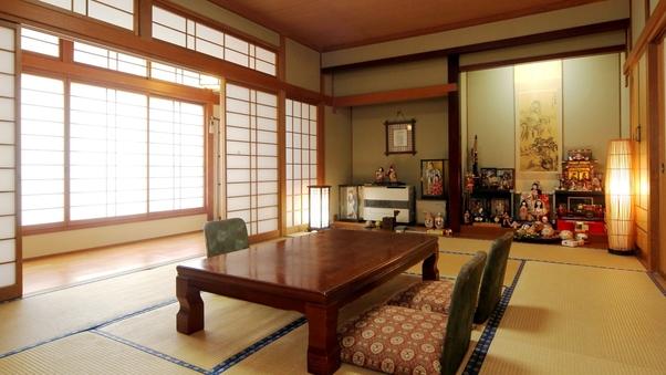 【わらしちゃんの部屋】和室12畳+広縁(洗面・トイレ付)