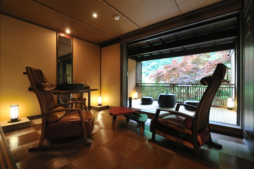 山の苺 露天風呂付客室