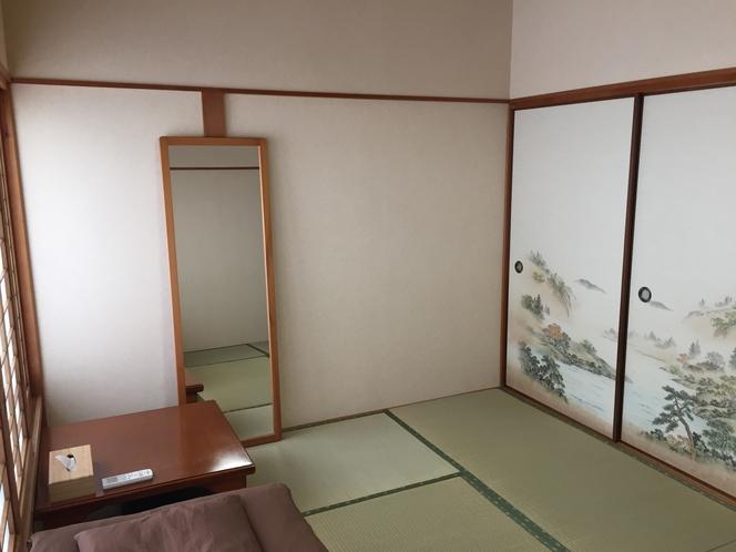 6畳和室(風呂・トイレ・洗面共用)※1~2名様向け