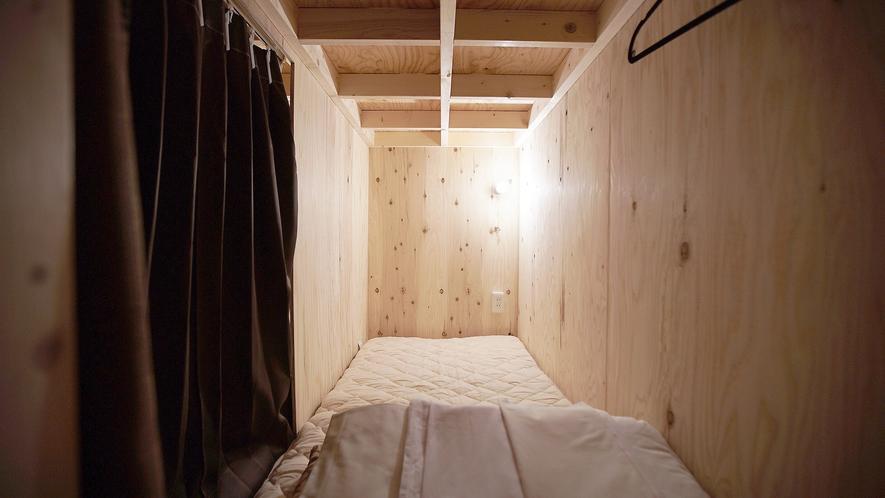 ・ドミトリールーム ベッド