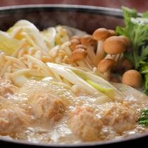 ■地鶏のたたき鍋■