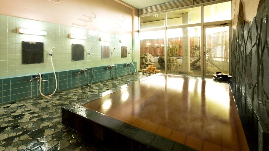 天然温泉『琥珀の湯』