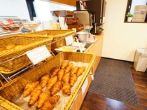 ◆焼きたてパン◆ホテル大阪ドーム前厨房で焼いた、焼きたてのパンをお楽しみいただけます。