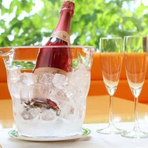 記念日プラン:スパークリングワイン02