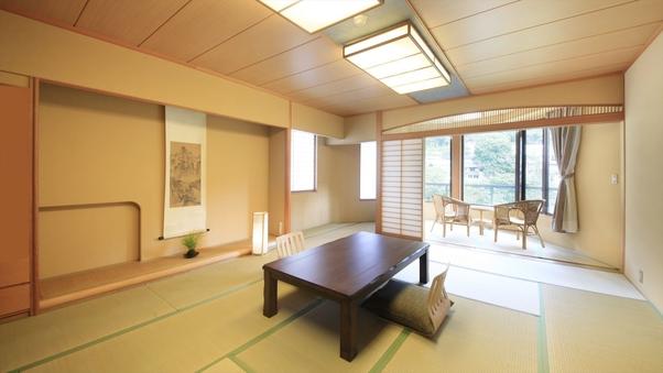 【利根川を望むお部屋】和室15畳(バス・トイレ付)◇禁煙