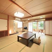 【利根川を望むお部屋】和室15畳一例