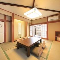 【露天風呂付き客室】和室8畳+12.5畳一例