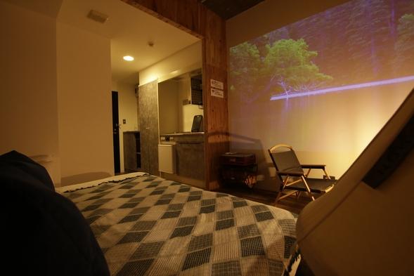 【BBQセット付】キャンプ気分でご宿泊!キャンプダブルルーム!