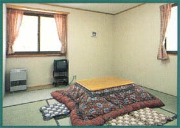 コタツのある部屋