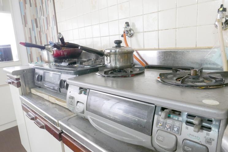 共同キッチン(コンロ)
