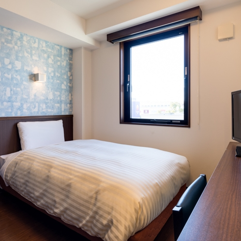 ◆シングルエコノミー◆広さ9平米◆ベッド幅110センチ◆