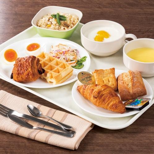 ◆朝食盛り付け例