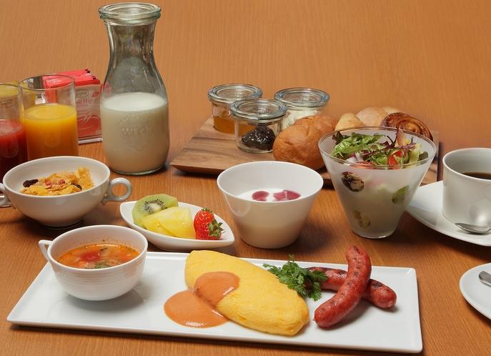 朝食食事例