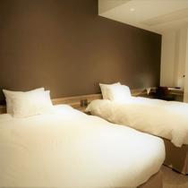 【デラックスルーム】8室 54㎡(定員4名)ベッドルーム