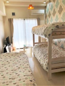 コロナ対策実施★素泊まりプラン(303号二段ベッド)