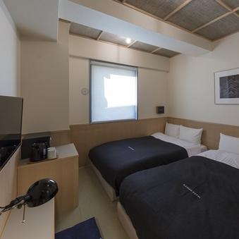 和室【禁煙】120cm幅ベッド×2台/13平米