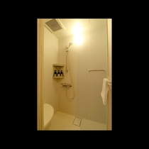 ~ Single room ~ 各室に独立のシャワールーム完備