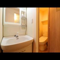 ~ Twin room ~  客室毎に独立の洗面台
