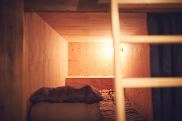 男女混合ドミトリー(mix dormitory)
