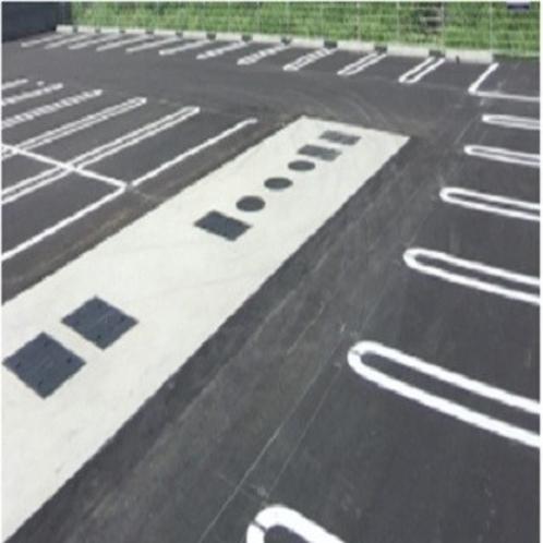 平面駐車場.
